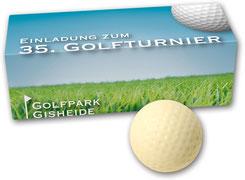 Golfbälle aus Schokolade, Schoko Golfbälle, Schokogolfbälle