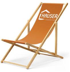 Liegestuhl mit Logo, Liegestühle bedrucken lassen, Liegestühle Express, Liegestühle bedruckt