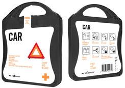 Erste Hilfe Set Auto, Erste Hilfe Set Car, Erste Hilfe Set bedrucken, Erste Hilfe Set Werbemittel, Erste Hilfe Set mit Logo, Erste Hilfe Werbemittel, Erste Hilfe mit Logo, Erste Hilfe bedrucken