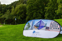Pop Up Banner mit Logo, Pop Up Banner bedrucken, Pop Up Banner bedruckt, Pop Up Banner Werbemittel, Pop Up Banner Golf
