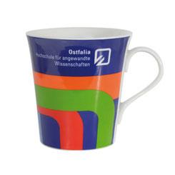 Tassen bedruckt, Tassen mit Logo, Tassen bedrucken, Tassen Werbemittel, Tassen Werbebotschaft, Tassen Fullservice, Tassen günstig, Tassen eckig