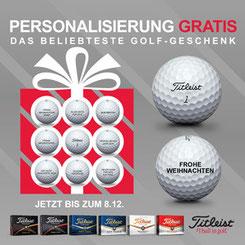 Golfbälle bedrucken, Titleist Golfbälle, Golfbälle mit Logo, Golfbäle bedruckt, Golfbälle Werbemittel, Werbemittel Golfartikel, Titleist Werbemittel