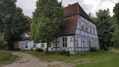 Gutshaus in Lüskow aus dem 18. Jahrhundert