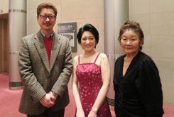 写真左:福田滋さん(音楽評論家・指揮者)写真右:北浦絃子さん(早坂文雄氏 次女)