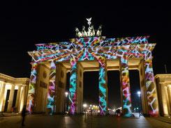 Brandenburger Tor angestrahlt