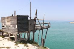 Trabuchi an der Küste