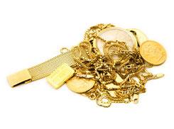Altgold und Goldschmuck