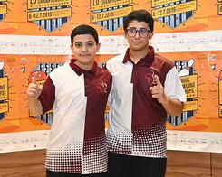 (L-R): Bander Al-Sada & Nasser Al-Mansouri