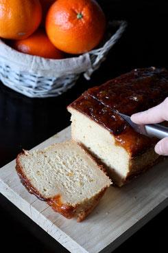 recette cake orange et safran