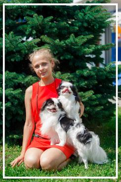 Профессиональный хендлер Ульянова Елизавета Тула