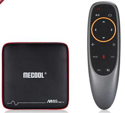 Box Android TV Mecool M8S pro W