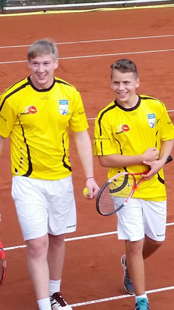 Pascal Müller und Elias Walter