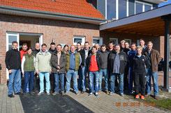 Trainer und Betreuer der JSG Gemeinde Hinte