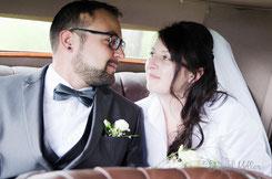 Hochzeitsfotos von Christine und Benjamin in Hesselhurst