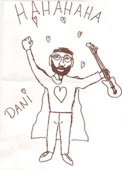 Dani gemalt von Julian