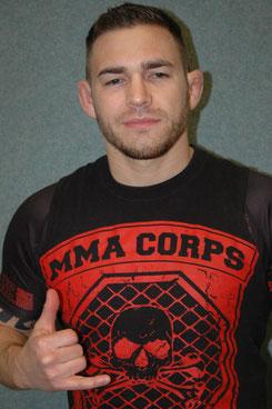 Markus Adam vom MMA Corps Ruhrpott.