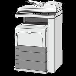 格安の業務用A3カラーコピー機、複合機