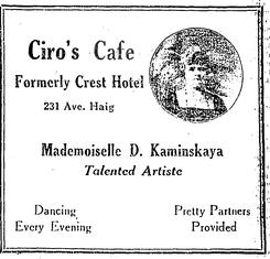 Exhibit A: Ciro's Cafe