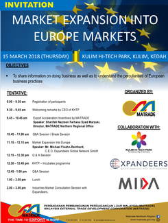 Expandeers Malaysia Event in Penang on Expansion into Europe