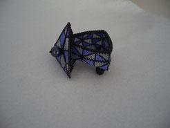 Hand Stitched Kaleidescope Beaded Box