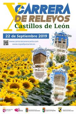"""X CARRERA DE RELEVOS """"CASTILLOS DE LEON"""" - Valencia de D. Juan- Toral de los Guzmanes-Laguna de Negrillos-Valencia de D. Juan, 22-09-2019"""