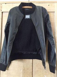 james & co julietta vegan bomber jacket