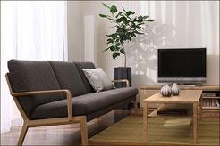 カリモクの家具の写真