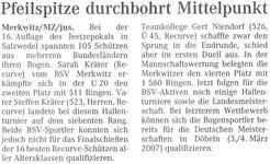 Artikel - 16. Jeetzepokal 2006 in Salzwedel