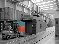 Containerumschlag in Antwerpen