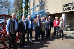 Teilnehmer der Sitzung ( nicht auf dem Bild J. Hauck, Dr. Böhm)