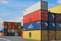 Freimessen von begasten Containern