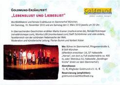 Das Goldmund-Erzählfest!