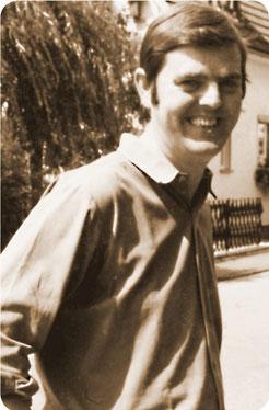 Eberhard Derichs 1972 als Unternehmensgründer