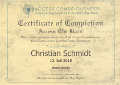 Access-Bars® im Saarland - Christian Schmidt aus Saarlouis