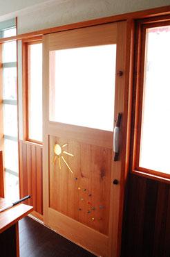 木製 玄関ドア