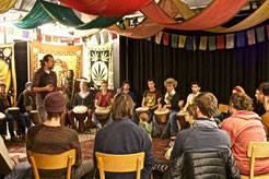 "Djembé-Workshop am Kulturtag ""Bio für Jede"" 2015"