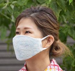 夏の爽やかマスク