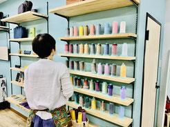 大阪のレザークラフト(革)教室 ヨコハマセリエ大阪心斎橋教室 糸