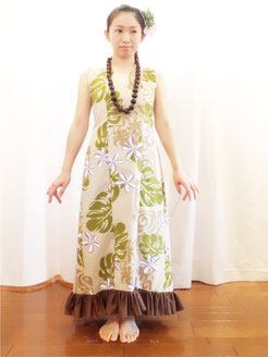 プリンセスラインノースリーブドレス