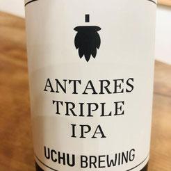 UCHU BREWING  宇宙ビール ANTARES TRIPLE IPA