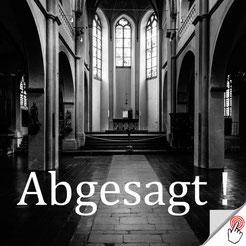 Leerer Kirchenraum (Foto Anna C. Wagner)