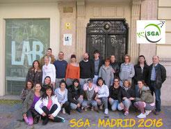 Curso SGA Profesional - Madrid 2016