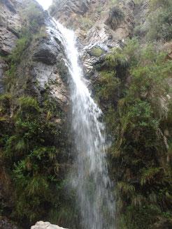 Chorro de San ignacio a 30 km de Merlo San Luis