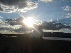 Pesca en el Rio Trapiche A 190 km de Merlo