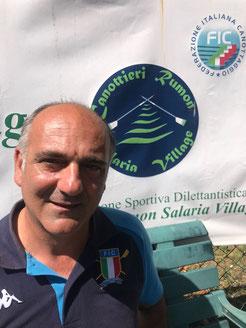 Giovanni Santaniello vice presidente e direttore tecnico canottieri rumon