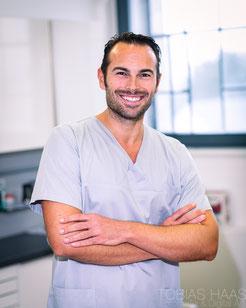 Dr. Philip Ganter, Zahnarzt in Zahnarzpotraxis im Sudturm Gottmadingen