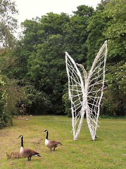 """""""Envolée"""" - Sculptures en l'île, Andrésy - mai 2017 - Roman GORSKI"""