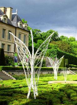 """""""Envolée"""" - Château d'Auvers-sur-Oise - Juin 2016 - Roman GORSKI"""