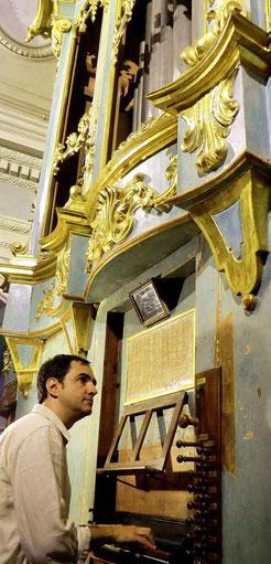 Fabriano, chiesa Ss. Biagio e Romualdo, organo G. Callido 1791