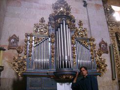 Villares de la Reina (Spagna), organo sec. XVIII